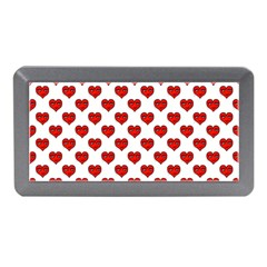 Emoji Heart Character Drawing  Memory Card Reader (mini) by dflcprints