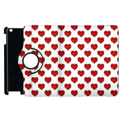 Emoji Heart Character Drawing  Apple Ipad 2 Flip 360 Case by dflcprints