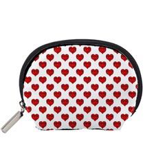 Emoji Heart Character Drawing  Accessory Pouches (small)  by dflcprints