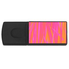 Pattern Usb Flash Drive Rectangular (4 Gb) by Valentinaart