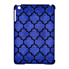 Tile1 Black Marble & Blue Brushed Metal (r) Apple Ipad Mini Hardshell Case (compatible With Smart Cover) by trendistuff