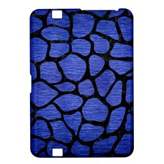 Skin1 Black Marble & Blue Brushed Metal Kindle Fire Hd 8 9  Hardshell Case by trendistuff