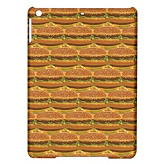 Delicious Burger Pattern Ipad Air Hardshell Cases by berwies