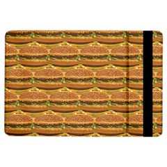Delicious Burger Pattern Ipad Air Flip by berwies