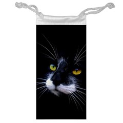 Face Black Cat Jewelry Bag