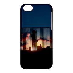 Art Sunset Anime Afternoon Apple iPhone 5C Hardshell Case