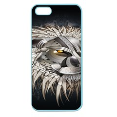 Lion Robot Apple Seamless iPhone 5 Case (Color)