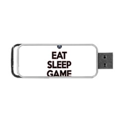 Eat Sleep Game Repeat Portable Usb Flash (two Sides) by Valentinaart