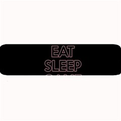 Eat Sleep Game Repeat Large Bar Mats by Valentinaart