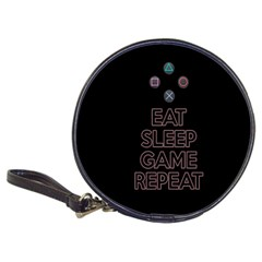 Eat Sleep Game Repeat Classic 20 Cd Wallets by Valentinaart