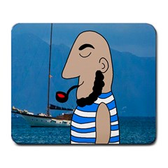 Sailor Large Mousepads by Valentinaart