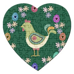 Easter Jigsaw Puzzle (heart) by Valentinaart