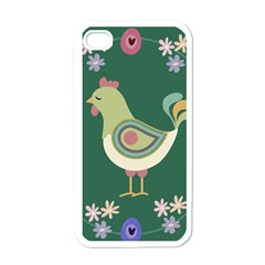 Easter Apple Iphone 4 Case (white) by Valentinaart