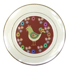 Easter Porcelain Plates by Valentinaart