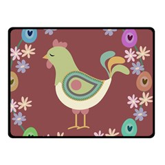 Easter Fleece Blanket (small) by Valentinaart