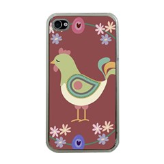 Easter Apple Iphone 4 Case (clear) by Valentinaart