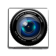 Camera Lens Prime Photography Memory Card Reader (Square) by Gogogo
