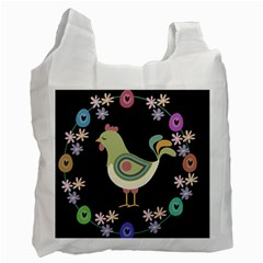 Easter Recycle Bag (one Side) by Valentinaart