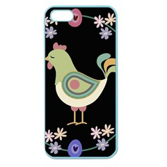 Easter Apple Seamless Iphone 5 Case (color) by Valentinaart