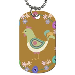 Easter Dog Tag (two Sides) by Valentinaart