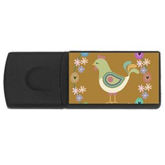 Easter Usb Flash Drive Rectangular (4 Gb) by Valentinaart