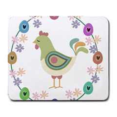 Easter Large Mousepads by Valentinaart