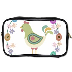 Easter Toiletries Bags 2 Side by Valentinaart