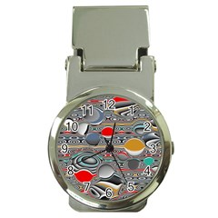 Changing Forms Abstract Money Clip Watches by theunrulyartist