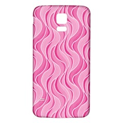 Pattern Samsung Galaxy S5 Back Case (white) by Valentinaart