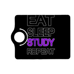 Eat sleep study repeat Kindle Fire HD (2013) Flip 360 Case by Valentinaart