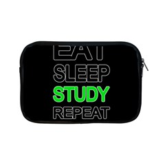 Eat Sleep Study Repeat Apple Ipad Mini Zipper Cases by Valentinaart