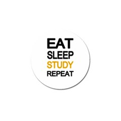 Eat Sleep Study Repeat Golf Ball Marker (10 Pack) by Valentinaart