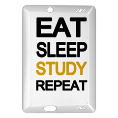 Eat Sleep Study Repeat Amazon Kindle Fire Hd (2013) Hardshell Case by Valentinaart