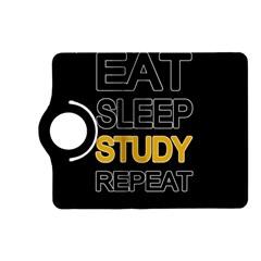Eat Sleep Study Repeat Kindle Fire Hd (2013) Flip 360 Case by Valentinaart