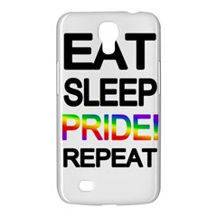 Eat Sleep Pride Repeat Samsung Galaxy Mega 6 3  I9200 Hardshell Case by Valentinaart