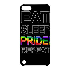 Eat Sleep Pride Repeat Apple Ipod Touch 5 Hardshell Case With Stand by Valentinaart