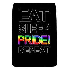 Eat Sleep Pride Repeat Flap Covers (s)  by Valentinaart
