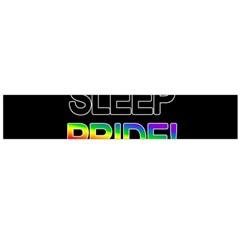 Eat Sleep Pride Repeat Flano Scarf (large) by Valentinaart