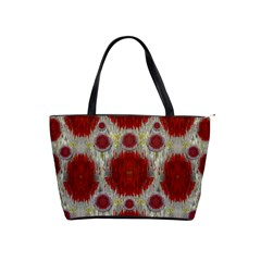Paint On Water Falls,in Peace And Calm Shoulder Handbags by pepitasart