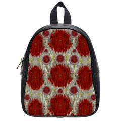 Paint On Water Falls,in Peace And Calm School Bags (small)  by pepitasart