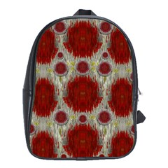 Paint On Water Falls,in Peace And Calm School Bags (xl)  by pepitasart