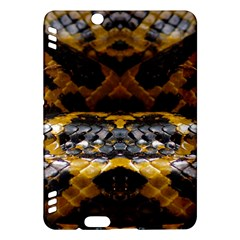 Textures Snake Skin Patterns Kindle Fire HDX Hardshell Case