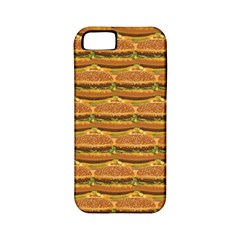 Delicious Burger Pattern Apple Iphone 5 Classic Hardshell Case (pc+silicone) by berwies