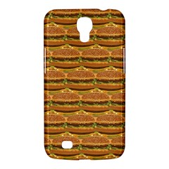 Delicious Burger Pattern Samsung Galaxy Mega 6 3  I9200 Hardshell Case by berwies