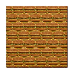 Delicious Burger Pattern Face Towel by berwies