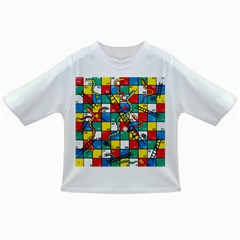 Snakes And Ladders Infant/Toddler T-Shirts by Gogogo