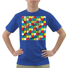Snakes And Ladders Dark T-Shirt by Gogogo