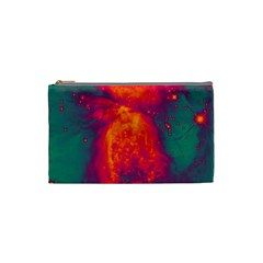 Space Cosmetic Bag (small)  by Valentinaart