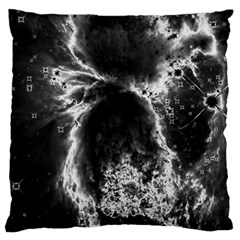 Space Large Flano Cushion Case (two Sides) by Valentinaart
