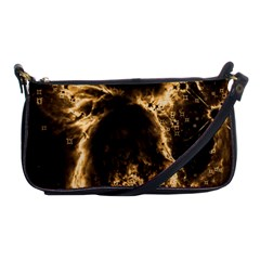 Space Shoulder Clutch Bags by Valentinaart